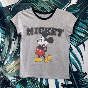 Mickey Fitted Ringer Tee